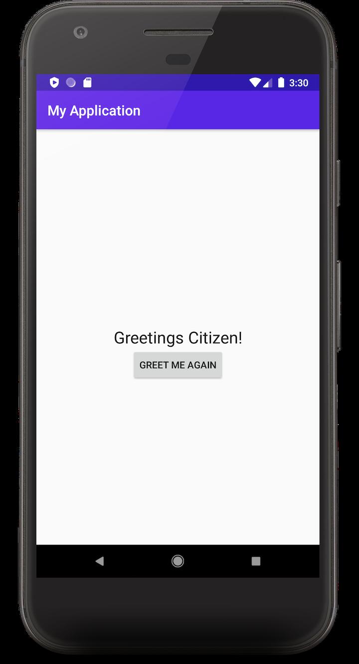 Hello App Example